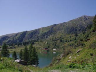 Schöner Ausblick in den Nockbergen