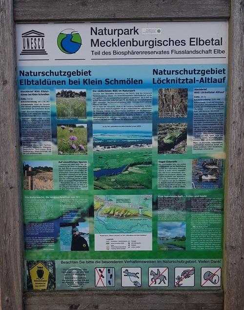 Informationen über den Naturpark Mecklenburgisches Elbetal - Foto: Abenteurer.info