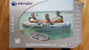 Unser neues Piraten-Schlauchboot ;)