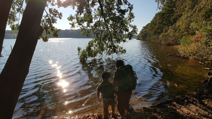 Bild: Kinder am Grabauer See