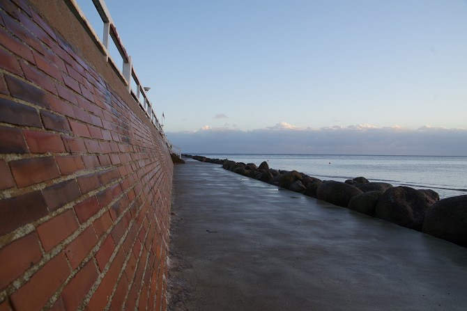 Bild: Uferweg Ostsee