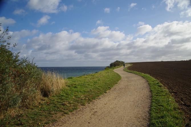Bild: Wanderweg Ostsee