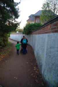 """An der """"Ratzeburger Mauer"""" entlang"""