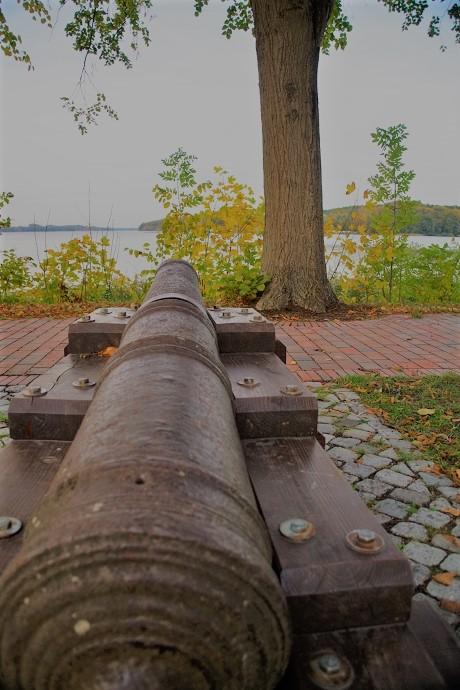 Kanone in Ratzeburg - Hier wird nicht mehr scharf geschossen.